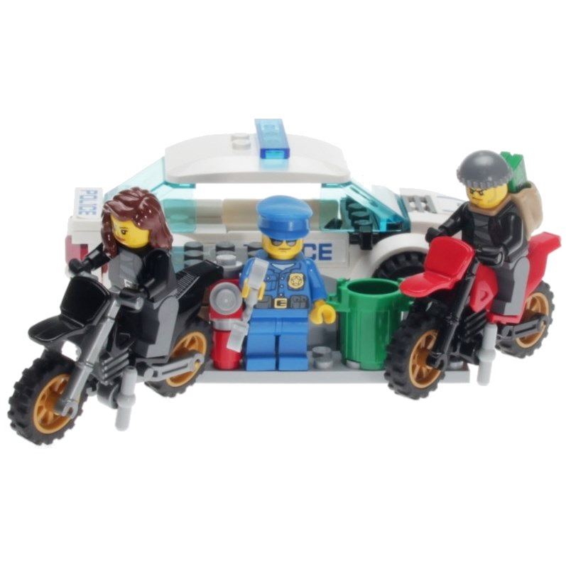 Lego City 60042 High Speed Police Chase Decotoys