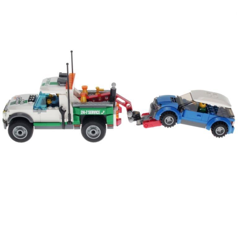 City Lego Auto Abschleppwagen Pickup 60081 Mit Decotoys 5R4A3jL