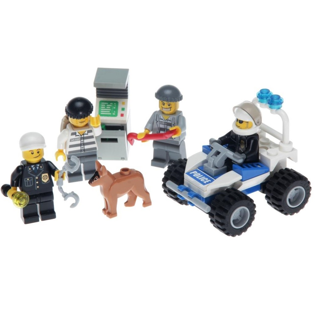 7279 Lego City Police Minifigures Collection Brand New