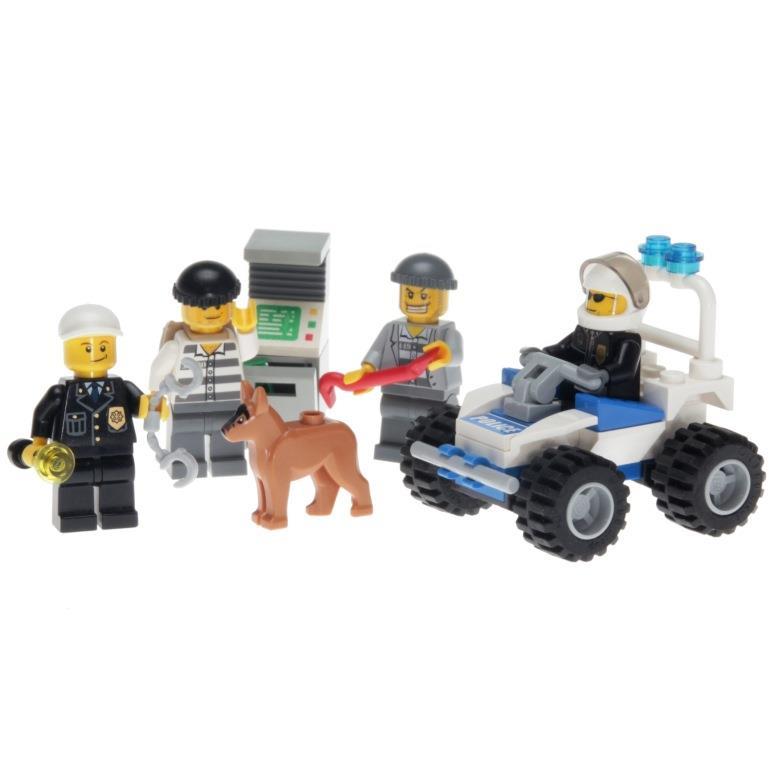 Lego City 7279 Police Minifigure Decotoys
