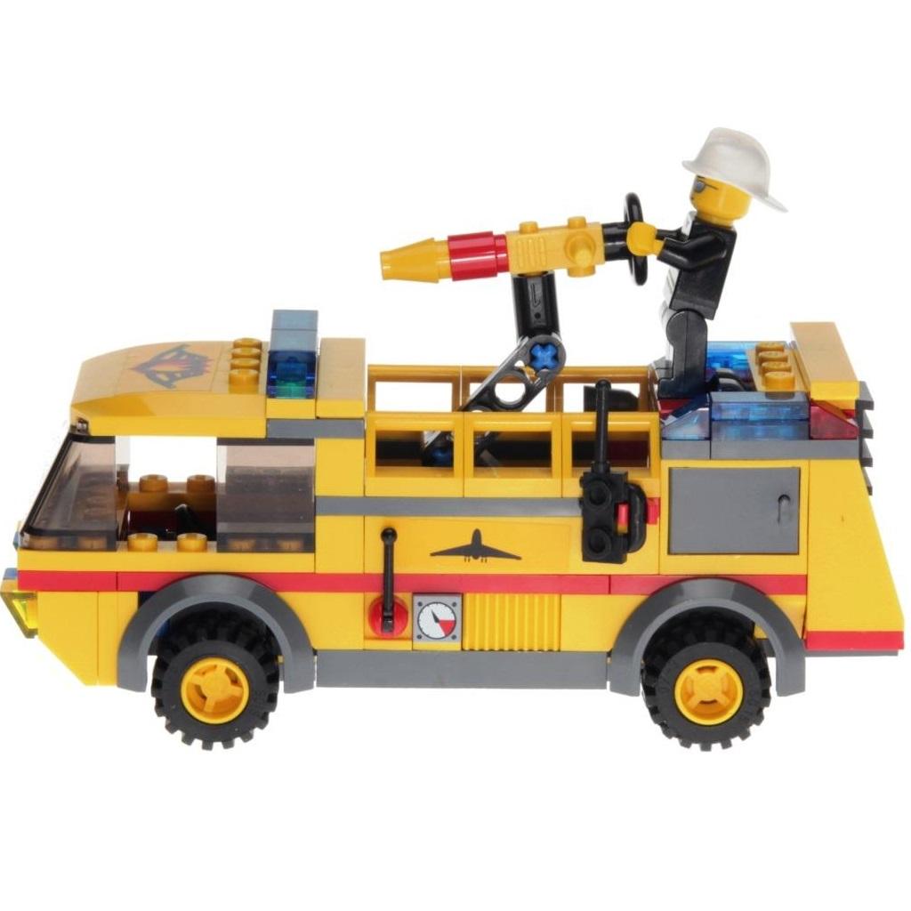 Lego City 7891 Airport Firetruck Decotoys