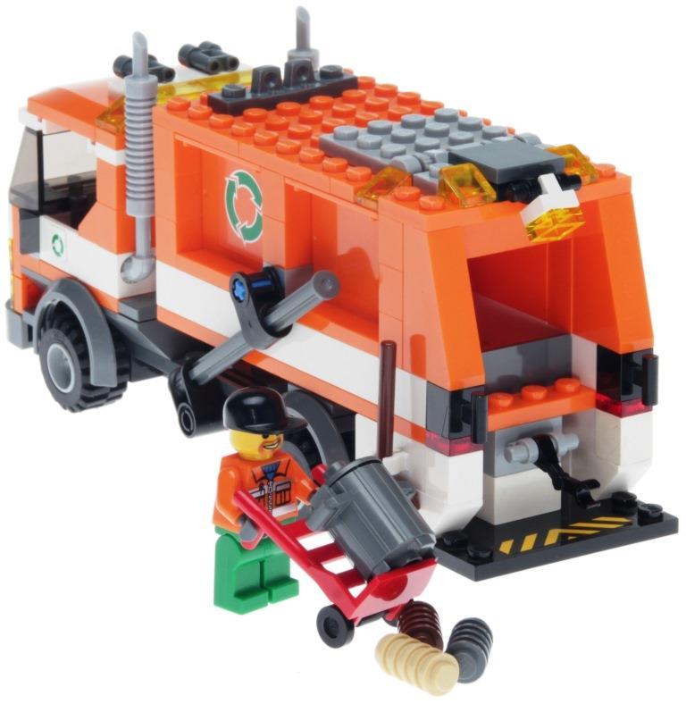 LEGO City 7991 - Müllabfuhr - DECOTOYS