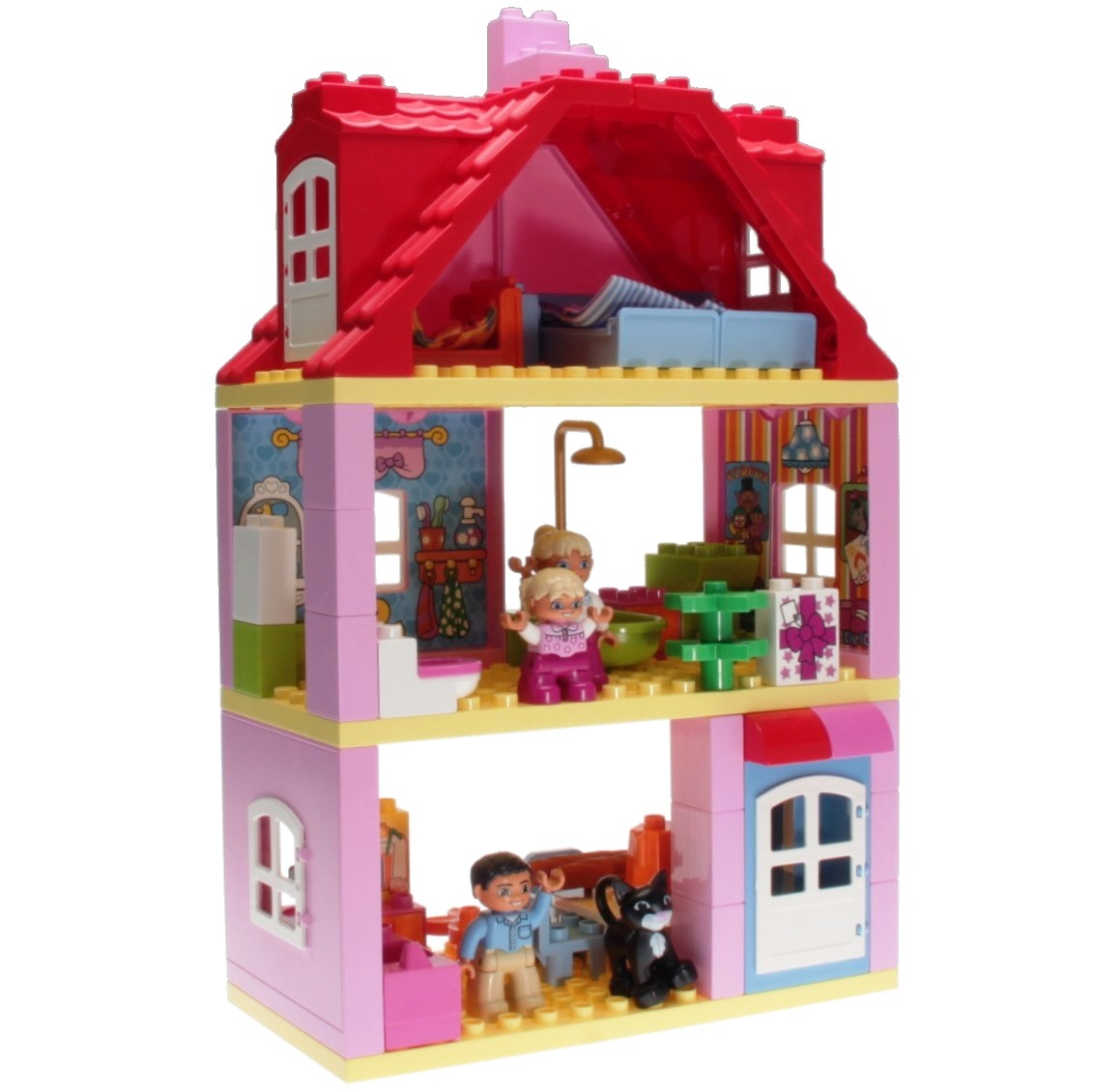 Lego Duplo 10505 - Familienhaus - DECOTOYS