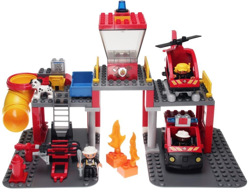 Lego Duplo 5601 Fire Station Decotoys