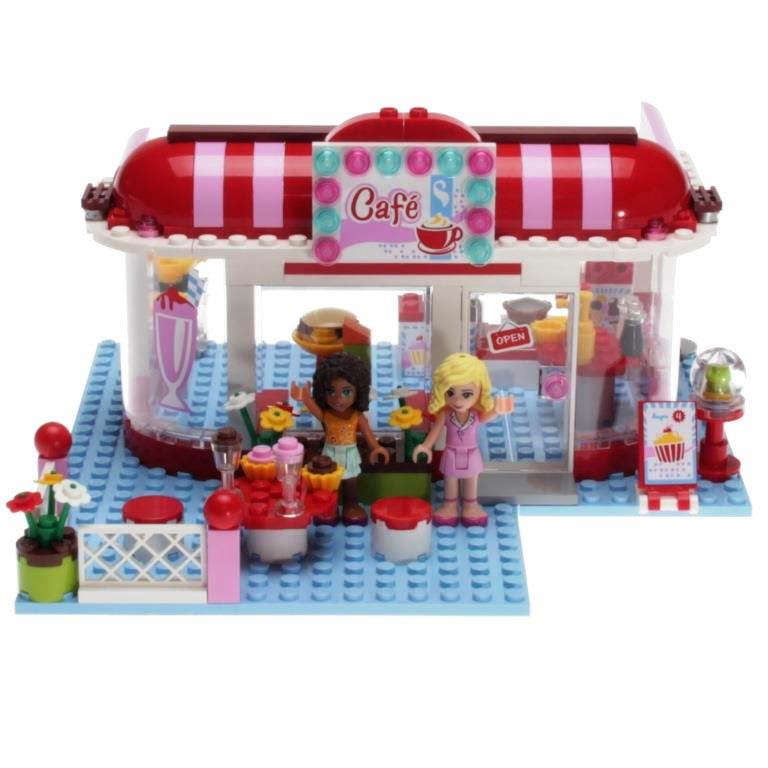 Lego Friends 3061 City Park Cafe Decotoys
