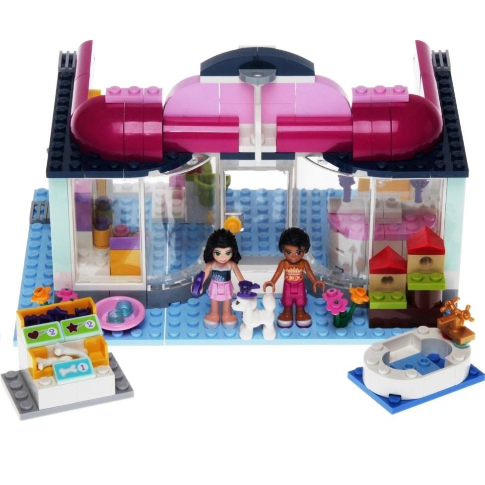 Lego Friends 41007 Heartlake Pet Salon Decotoys