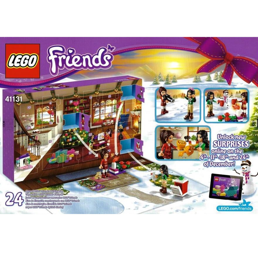 Weihnachtskalender Lego Friends.Lego Friends 41131 Friends Advent Calendar