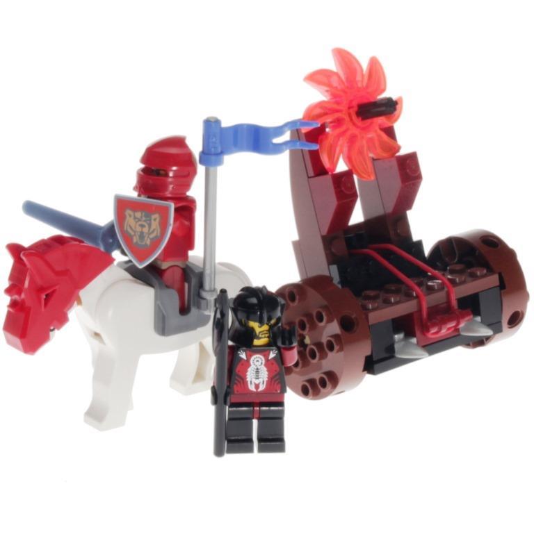 LEGO Knights Kingdom 8873 - Fireball Catapult - DECOTOYS