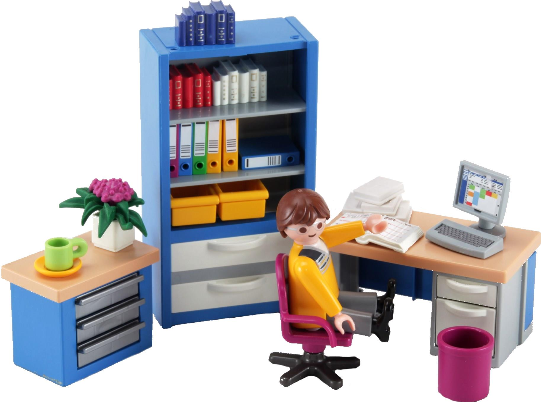 playmobil 4289 the home office decotoys. Black Bedroom Furniture Sets. Home Design Ideas