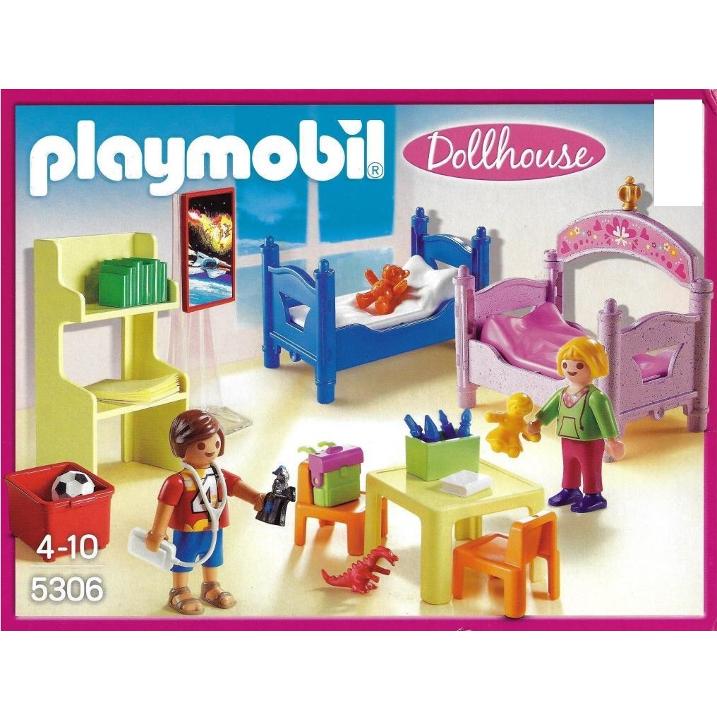 playmobil 5306 buntes kinderzimmer decotoys. Black Bedroom Furniture Sets. Home Design Ideas