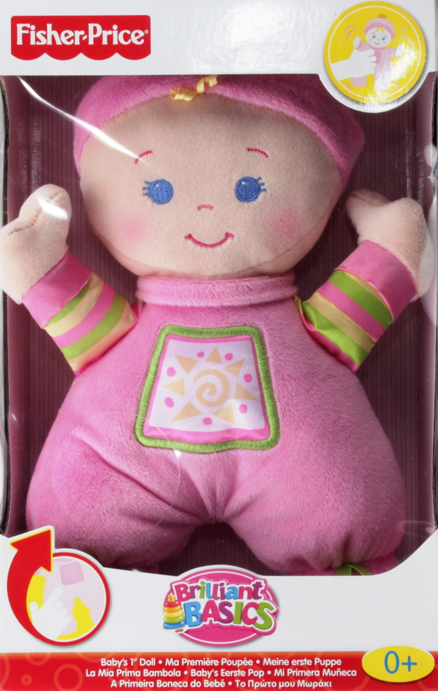 Fisher-Price N0663 - My First Doll, Puppe - DECOTOYS