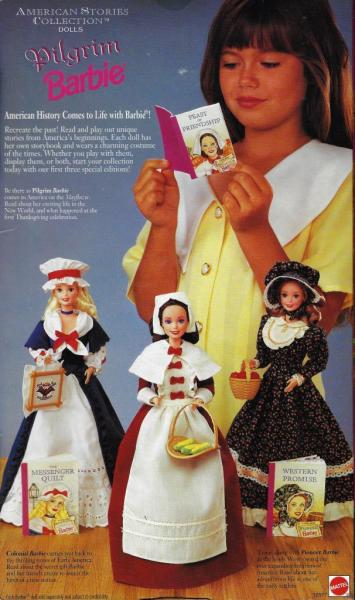 BARBIE - 12577 - 1994 Pilgrim Barbie Doll