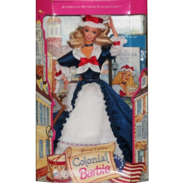 BARBIE - 12578 - 1994 Colonial Barbie Doll