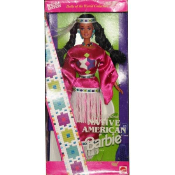 BARBIE - 12699 - 1996 Native American Barbie Dolls of The World