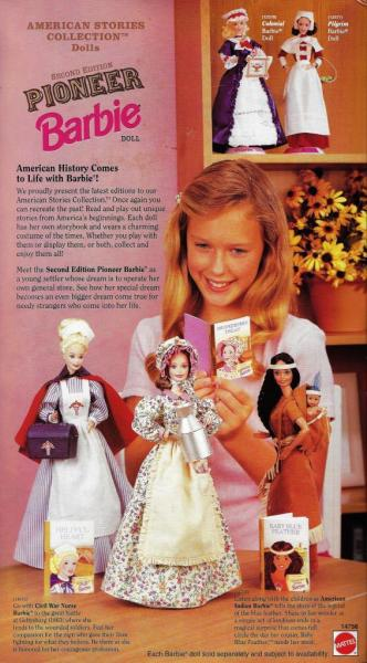BARBIE - 14756 - 1995 Pioneer Shopkeeper Barbie Doll