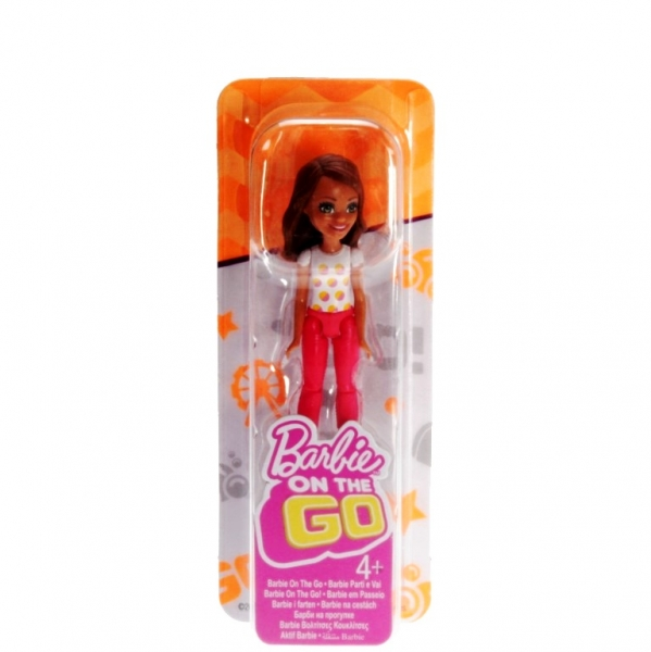 BARBIE - FHV56 - Barbie On The Go Polka Dot Fashion Doll