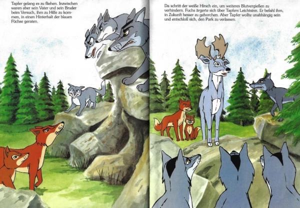 Die Tiere Die Den Wald Verließen