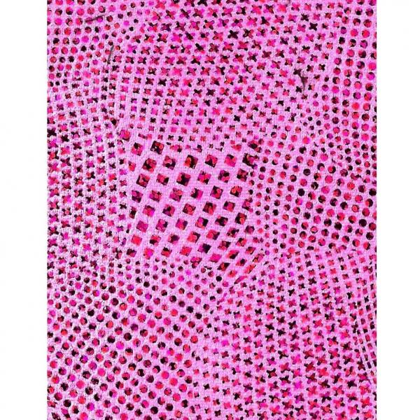 LEGO Duplo - Cloth Sleeping Blanket 5 x 6 Pink with Glitter Effect