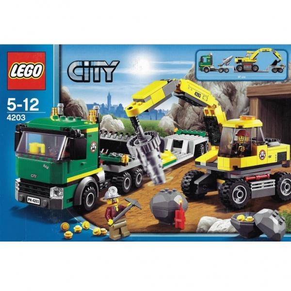 4203 Lego City Excavator Transport Mib Coursespersesorguk