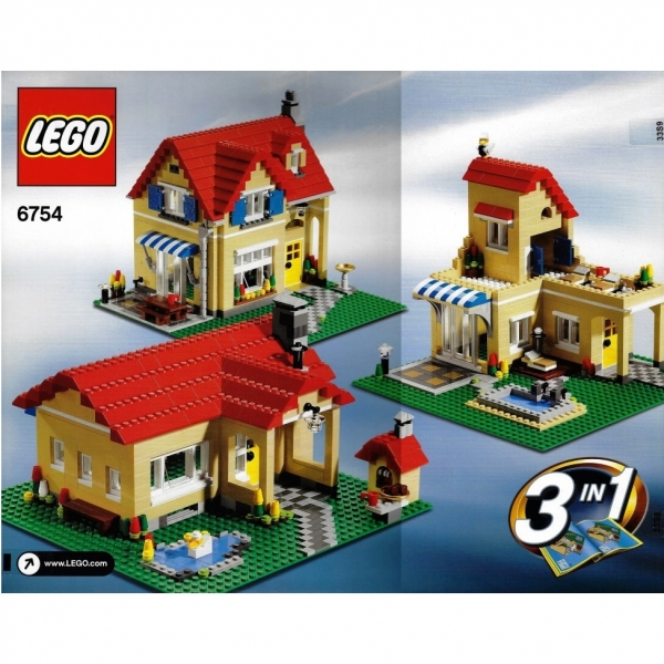 *BRAND NEW* Lego CREATOR 6754 FAMILY HOME