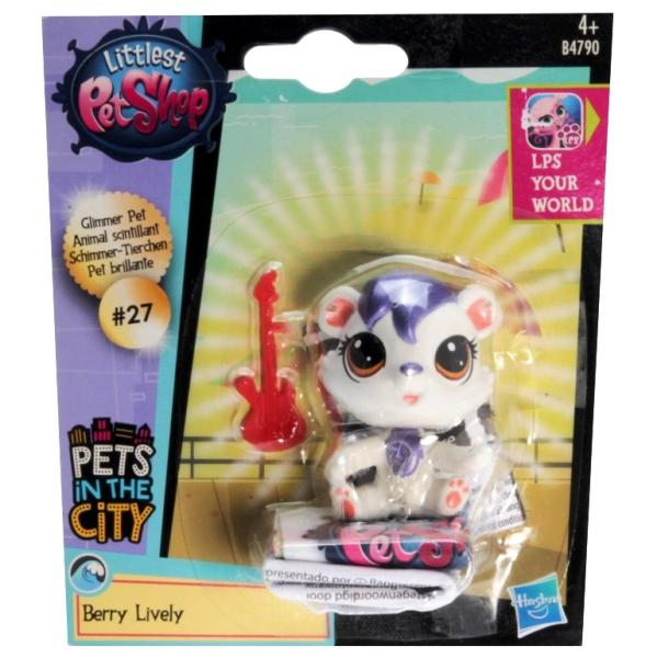 Littlest Pet Shop - Pets in the City B4790 - 0027 Berry Lively