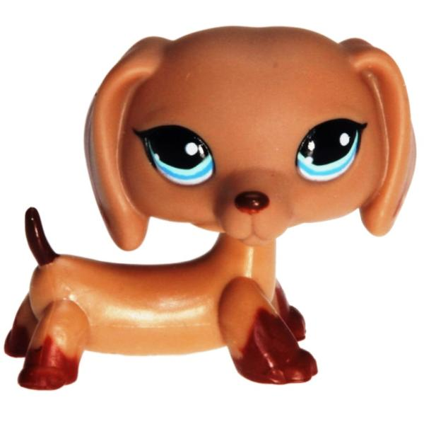 Littlest Pet Shop - Singles - 1211 Dachshund