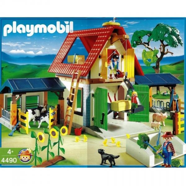 playmobil  4490 grosser bauernhof  decotoys