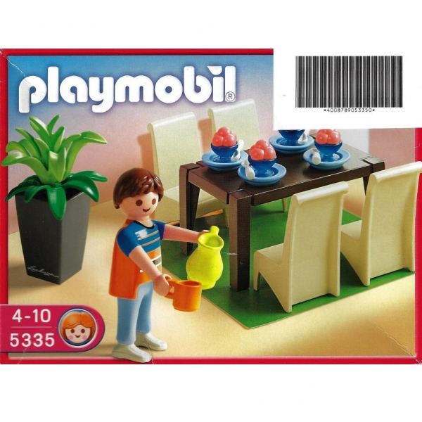 Playmobil 5335 schickes esszimmer decotoys for Playmobil esszimmer 5335