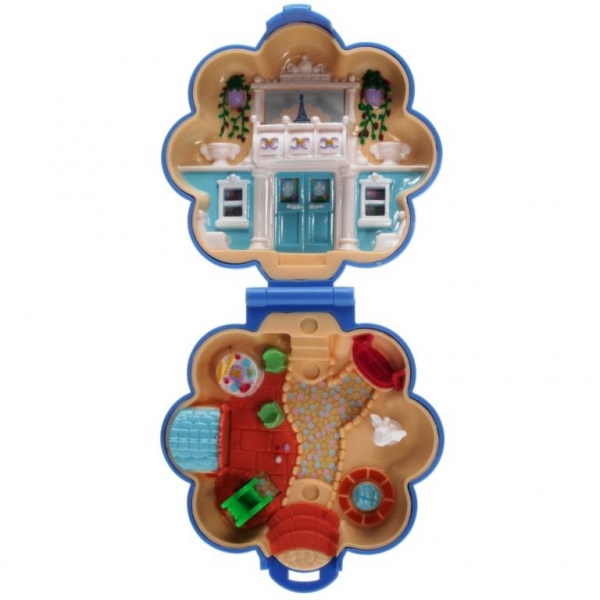 Polly Pocket Mini - 1990 - Fifi's Parisian Apartment Bluebird Toys 920461