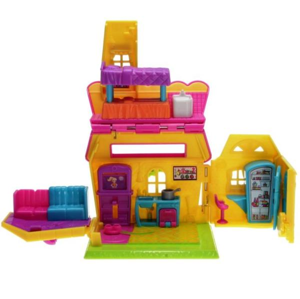Polly Pocket Pollyville Y6082 - Polly's House Variation b