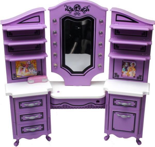BARBIE - R4370-0 - Beauty Salon, Including Barbie Doll ...