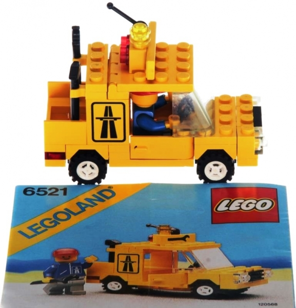 Lego Legoland 6521 Emergency Repair Truck Decotoys