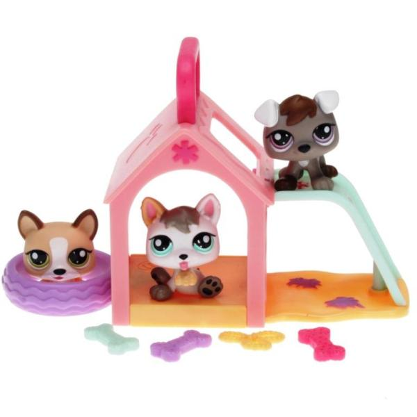 Littlest Pet Shop - Petriplets 25367 - Puppy 1876, 1877, 1878