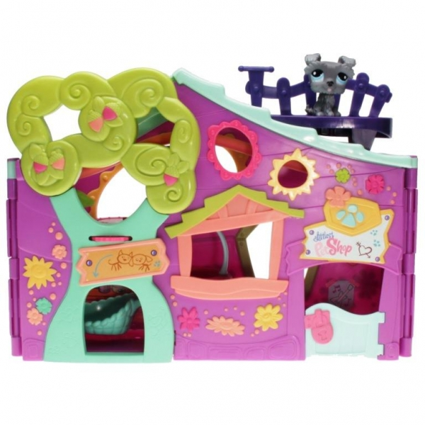 Littlest Pet Shop - Playset - 94620 Pets only! Clubhouse - 1393 Schnauzer