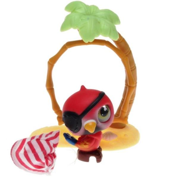 Littlest Pet Shop - Portable Pets - 0331 Pirate Parot