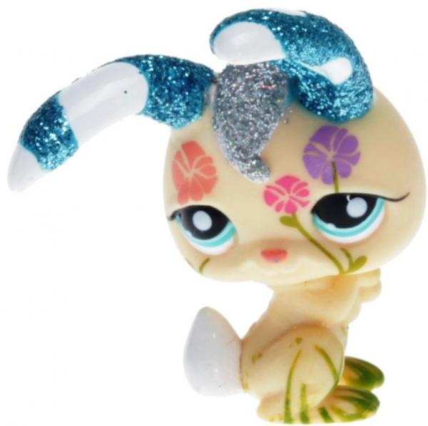 Littlest Pet Shop - Shimmer n Shine Pets - 2156 Rabbit