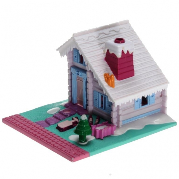 Polly Pocket Mini - 1993 - Pollyville - Ski Lodge Bluebird Toys 940241