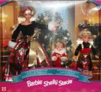 BARBIE - 19809 - 1998 Christmas Sisters Dolls Barbie Kelly Stacie