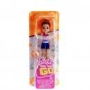BARBIE - FHV58 - Barbie On the Go Puppe Rothaarig mit Anker-Shirt