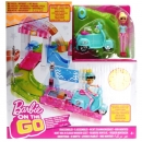 BARBIE - FHV85 - Barbie On The Go Post Office Playset