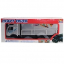 Dickie  341 6043 - Heavy Truck  - Silber