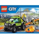 LEGO City 60121 - Volcano Exploration Truck