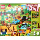 LEGO Duplo 66538 - Wildpark - Superpack 3 in 1