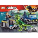 LEGO Juniors 10757 - Raptor Rescue Truck