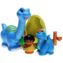 Little People J4424 - Lil' Dino Brontosaurus