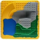 Lego Duplo  2295 - Baseplate Raised 24 x 24 Four Level with Lake