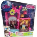 Littlest Pet Shop - Talent Studio 99881 - Canary Bird 2519, Yorkie 2520
