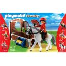 Playmobil - 5521 Andalusian horse box with white-brown