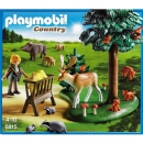 Playmobil - 6815 Clearing with animal food