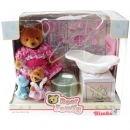 Simba Toys 5991730 - Bear Family Bathroom